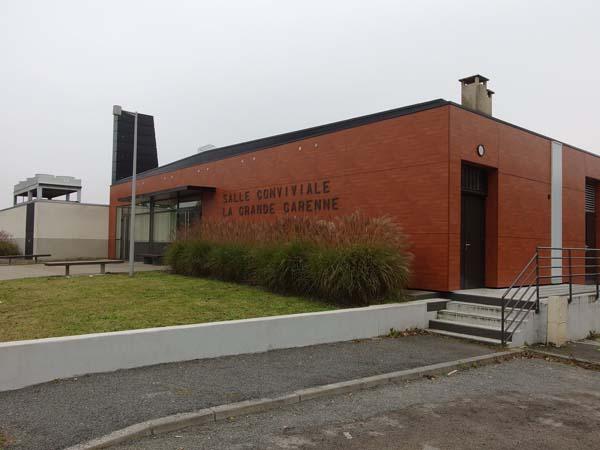Grande Garenne – Salle conviviale – Angoulême