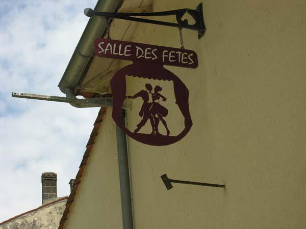 Salle des fêtes – Bourg-Charente