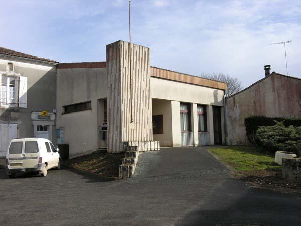 Salle des fêtes – Saint-Cybardeaux