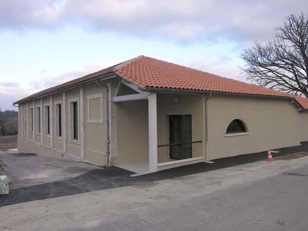 Salle socio culturelle – Touvérac