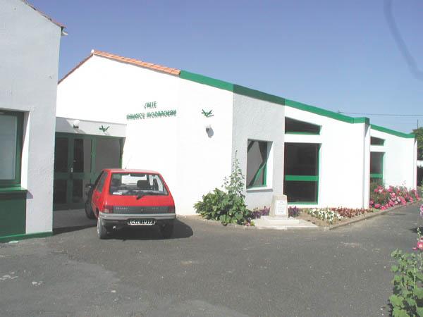 Salle polyvalente Maurice Morandeau – La Brée-les-Bains