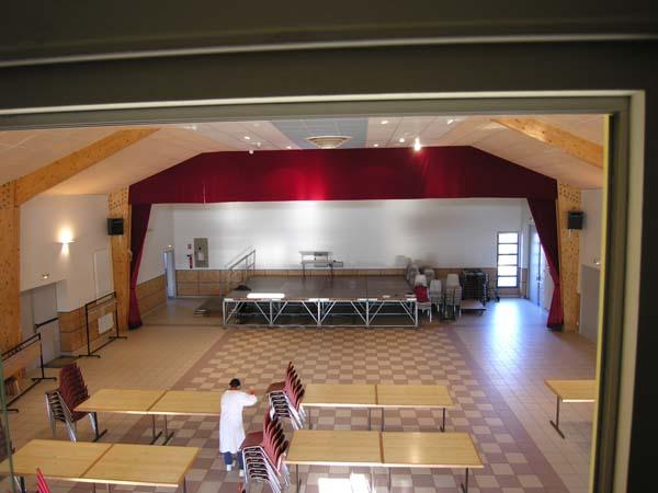 Salle des fêtes – Espace des Grands Champs – Romans