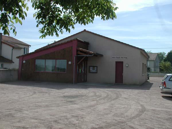 Salle polyvalente – Salle Claude Pacton – Gizay