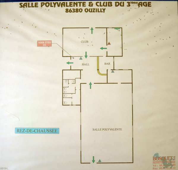 Salle polyvalente – Ouzilly