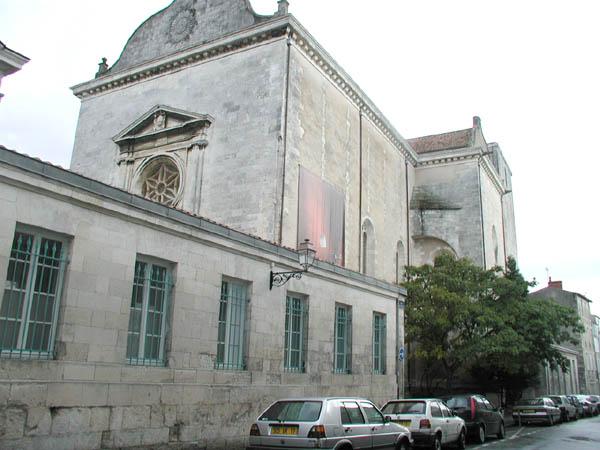 Chapelle Fromentin – CCN – La Rochelle
