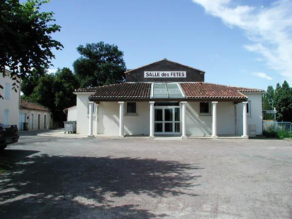 Salle des fêtes – Saint-Romain-de-Benêt