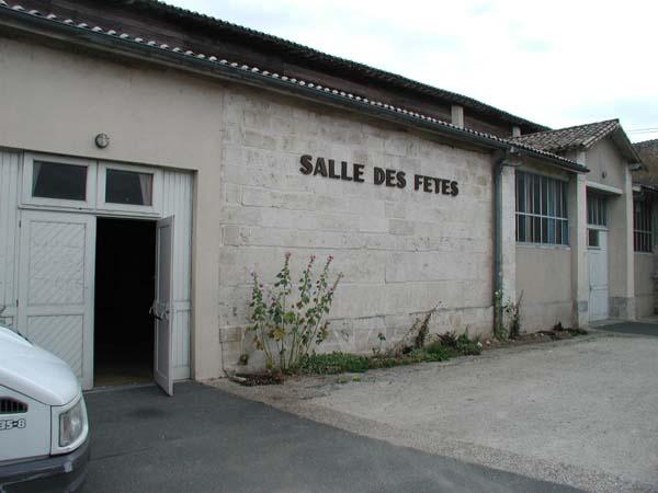 Salle des fêtes – Champdeniers Saint-Denis